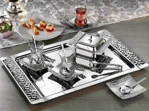 İslamoğlu Petek 40 Parça Çay Seti