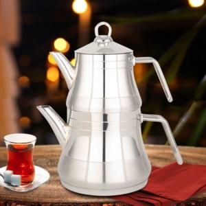 Fms Yıldız Serisi Büyük Boy Metal Saplı Çaydanlık- 4060