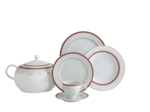 Güral Porselen 84 Parça Yuvarlak Tolstoy Yemek Takımı 50811