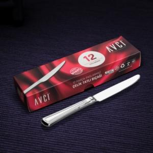 Avcı Narin 12 Parça Tatlı Bıçağı NR-12