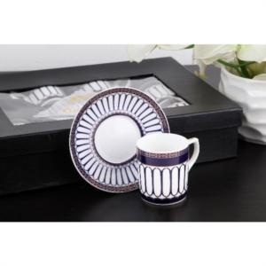 Gönül Porselen Desenli Kahve Fincan Takımı G2148