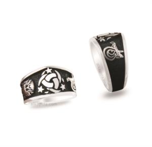 Gümüş Teşkilatı Mahsusa Erkek Yüzük EY967 / 8,9 gr