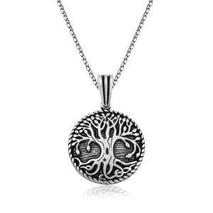 Gümüş Köklü Yaşam Ağacı Kolye