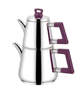 Neva Lidya Çaydanlık Takımı-Mor N2664