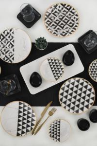 Keramika Trigon Kahvaltı Takımı 21 Parça 4 Kişilik - 18765-66-67-68