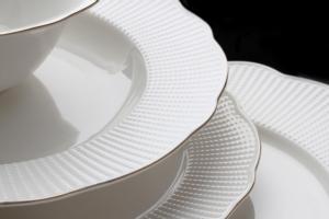 Kütahya Porselen Bone İlay 83 Parça Yemek Takımı