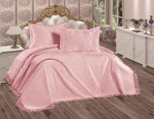 Elena Home Camellia 2 Parça Tek Kişilik Pudra Yatak Örtüsü