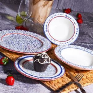 Kosova 24 Parça Porselen Yemek Takımı POR-0020 HALİÇ