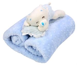 Özdilek Tomurcuk Mavi 90 x 110 cm Bebek Battaniyesi