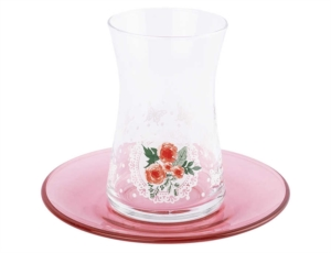 Tantitoni 12 Parça Butterfly Effect Çay Bardağı Takımı HARE 42361BE