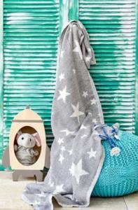 Karaca Home Baby Star Gri Bebek Pikesi