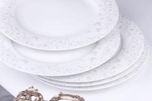 Sevenly 24 Parça Ottomane Yuvarlak Yemek Takımı