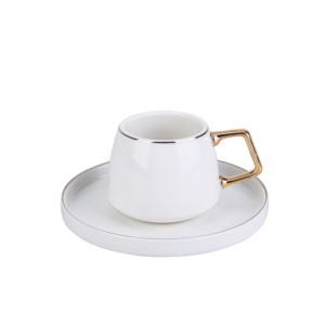 Karaca Saturn 2 Kişilik Porselen Çay Fincan Takımı