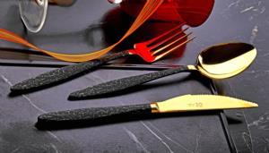 Özlife Işıl Gold 72 Parça Çatal Kaşık Bıçak Takımı- 864-L