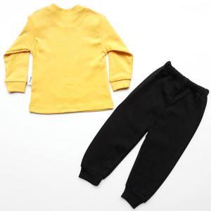 Küçük Adam Sarı Siyah 2 li Erkek Bebek Takım