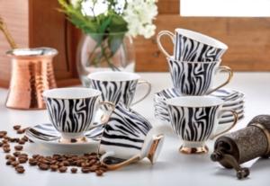 Özlife 12 Parça Kahve Fincan Takımı- 1515