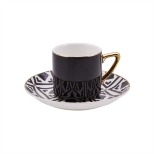 Karaca Monochrome 4 Kişilik Kahve Fincan Takımı