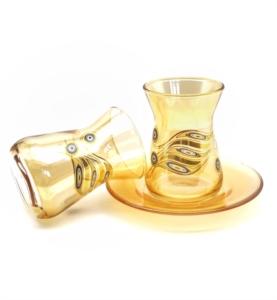 Özcam Kristal 12 Parça Günlük Çay Takımı D-1640
