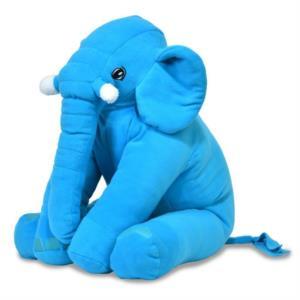 Prado Uyku Arkadaşım Uyku Fili Yastık 60cm Mavi