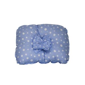 Mavi Beyaz Puanlı Emzirme Yastığı