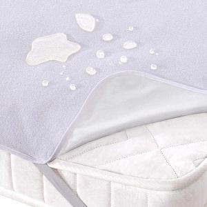 Çapa Home 180*200 Çift Kişilik Sıvı Geçirmez Alez Beyaz