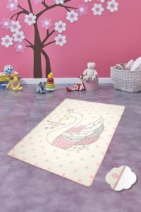 Chilai Home Swan Ekru Çocuk Halısı