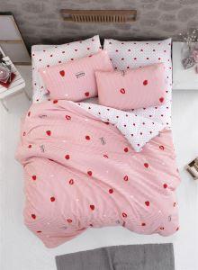 The Fabric Sweet Strawberry Çift Kişilik Nevresim Seti