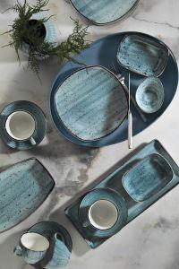 Kütahya Porselen Corendon 30 Parça Kahvaltı Takımı Mavi