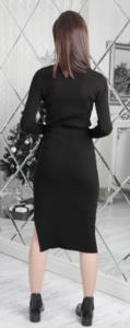 Moda Verona Balıkçı Yaka Triko Elbise
