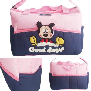 Sevimli Mickey Bebek Çantası Pembe