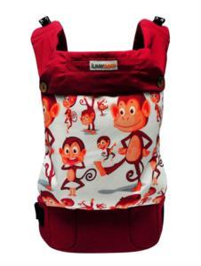 İlkay Baby Ergonomik Kanguru Handy- Şımarık Maymunlar 3 Ay-4 Yaş