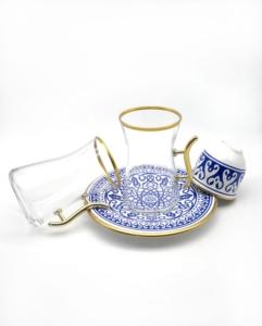 Özcam Kristal 18 Parça Çay Takımı D-1519