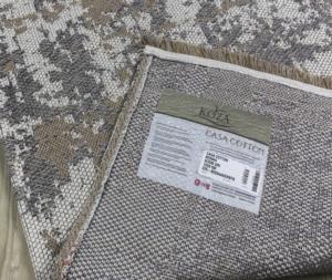 Koza Halı Casa Cotton Vizon-Gri Kilim- B2694A