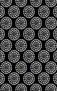 Merinos Halı Sky Serisi  21789 90-Black