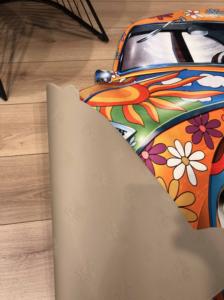 Markaev 3D Polyester 140x200 PVC Tabanlı Halı 6009
