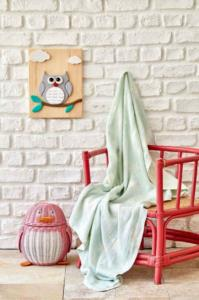 Karaca Home Baby Star Yeşil Bebek Pikesi