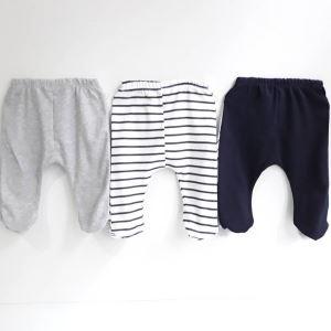 Kuzu ile İnek 3 Parça Bebek Alt Penye Pantolon