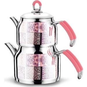 Fms Prestij Serisi Dekorlu Aile Boy Çaydanlık- 4050-D