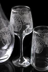 Royal Kristal 31 Parça Alba Platin Cam Set