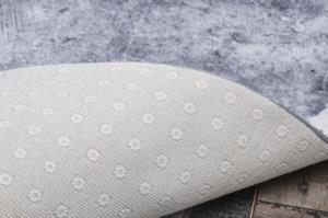 Pandora Dijital Baskılı Dod Tabanlı Halı Granit Gri