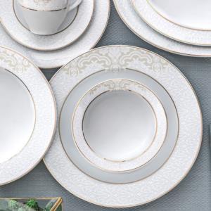 Güral Porselen 84 Parça Yuvarlak Tolstoy Yemek Takımı 9305108
