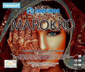 Merinos Halı Marokko Serisi 830 75 Red