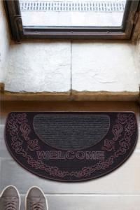 Chilai Mezzo Roze 45X70 Cm Kapı Önü Paspası Kauçuk Paspas