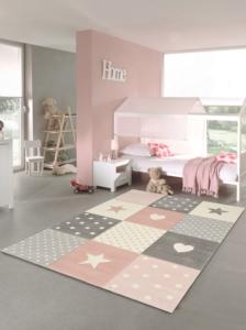 Merinos Pastel Kids Çocuk Halısı 20339 255 Pink