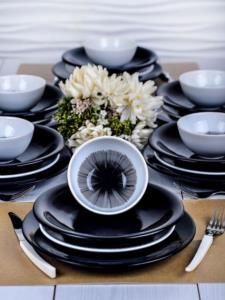 Keramika Bing Bang Yemek Takımı 24 Parça 6 Kişilik