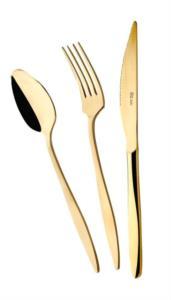 Özlife Ela Gold 60 Parça Çatal Kaşık Takımı- 390