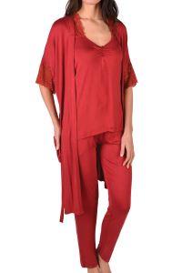 Nicoletta Kadın Pijama Takım Sabahlık Üçlü