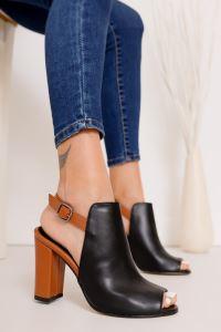 Moda Eleysa Quinn Topuklu Cilt Ayakkabı MODAELYSSA2079