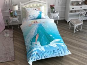 Taç 3607 Lisanslı Brf Tek Kişilik Nevresim Takımı Frozen Ice Powers