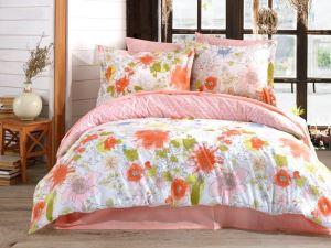 Pink Touch 4 Yastıklı Çift Kişilik Nevresim Takımı